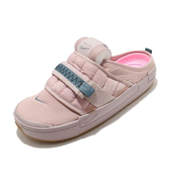 Nike 涼拖鞋 Offline 粉紅 藍 男鞋 柔珠內底 包頭拖鞋 休閒鞋 N.354 【ACS】 CJ0693-200