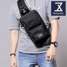 74盎司 Life 雙口袋設計尼龍胸包[G-1000]