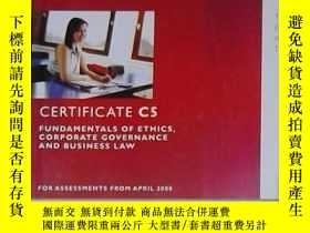 二手書博民逛書店英文原版罕見CIMA - Certificate C5Y1406