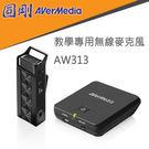 【免運費】AVerMedia 圓剛 教學用無線麥克風 AW313 / 2.4GHz