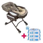 【送貝恩嬰兒柔濕巾一箱】Aprica 愛普力卡 YuraLism AUTO HIDX 電動餐椅搖床 BR 流星雨