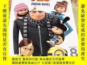 二手書博民逛書店Despicable罕見Me 3: The Junior Nov