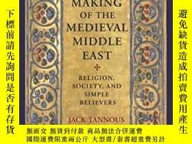 二手書博民逛書店The罕見Making Of The Medieval Middle EastY364153 Jack Tan
