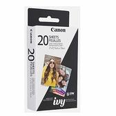 Canon ZINK相片貼紙 20張 適用IVY CLIQ+ / CLIQ+2 [2美國直購]