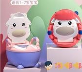 兒童馬桶坐便器男孩女寶寶便盆小孩家用尿桶嬰兒專用【淘嘟嘟】