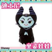 迪士尼 黑魔女 壞蛋 坐姿娃娃 玩偶 Disney 日本正品 該該貝比日本精品 ☆
