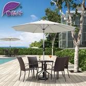 紫葉陽臺傘中柱傘戶外遮陽傘花園太陽傘戶外傘庭院傘咖啡廳奶茶店 後街五號