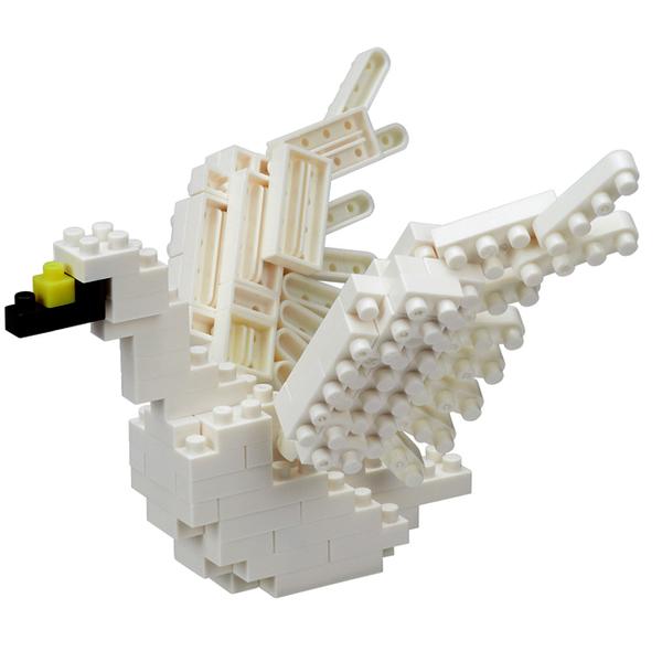 【日本 Kawada 河田】Nanoblock 迷你積木 白天鵝 SWAN NBC-226