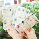 韓國 浪漫花語 透明軟殼 手機殼│iPhone 5S SE 6 6S 7 8 Plus X XS MAX XR LG G5 G6 Q6 G7 Q7 Q8 V20 V30 V35│z6822