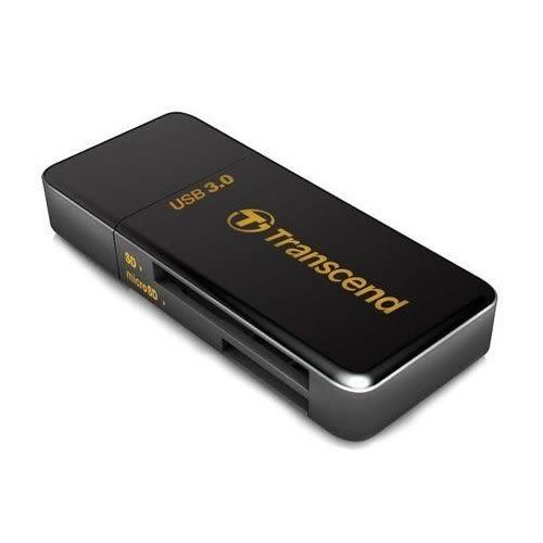 【新風尚潮流】創見 RDF5 USB 3.0 多功能讀卡機 兩年保固 TS-RDF5K