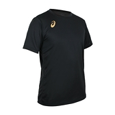 ASICS 男排羽球短袖T恤(免運 排球 羽毛球 運動 吸濕排汗 上衣 亞瑟士≡體院≡ 2051A271-002