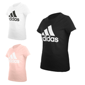 ADIDAS 女短袖T恤(亞規 純棉 休閒上衣 慢跑 路跑 愛迪達≡體院≡ FQ3237_1