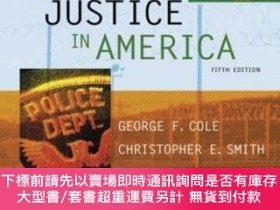 二手書博民逛書店Criminal罕見Justice In AmericaY255174 Cole, George F.  Sm
