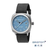【官方旗艦店】BRISTON 手錶 水藍色 Classic軍風前衛設計 時尚皮錶帶 男女 生日情人節禮物