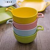 創意陶瓷單耳烤碗芝士焗飯麥片碗早餐碗烘焙碗家用點心水果陶瓷碗【櫻花本鋪】