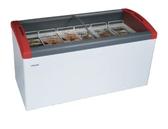 丹麥Elcold 冷凍櫃 圓弧形展示冰櫃【5尺 冰櫃】型號:FOCUS-151