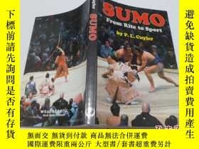 二手書博民逛書店SUMO罕見From Rite to Sport8337 出版1