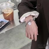 鈦鋼不掉色嘻哈手鏈女設計韓版簡約手飾品【毒家貨源】