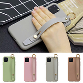 蘋果 iPhone11 Pro Max 莫蘭迪手繩款 手機殼 軟殼 手帶 支架 可掛繩 保護殼