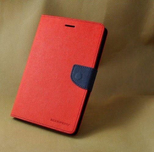 三星Galaxy Tab 3 7.0 T210 平板保護套 韓國MERCURY GOOSPERY雙色皮套 Samsung P3200 撞色支架插卡皮套