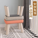小凳子 小凳子家用創意小板凳客廳茶幾凳實木成人沙發凳布藝矮凳子小椅子