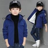 兒童棉衣 童裝男童棉衣外套冬裝2019新款棉襖兒童中大童加絨加厚羽絨棉服潮