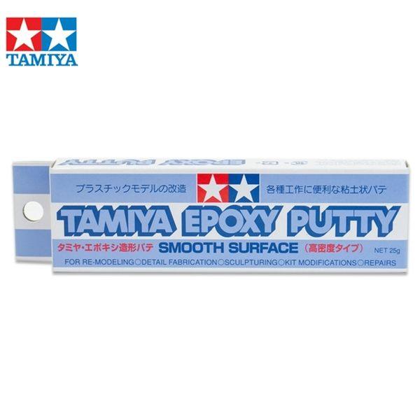 又敗家@日本TAMIYA田宮補土光滑補土87052模型補土EPOXY環氧樹脂PUTTY模型AB補土高密度補土修復造型士