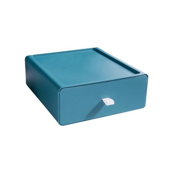 〈限今日-超取288免運〉抽屜盒 桌面收納盒 置物盒 收納盒 儲物盒 文具盒 整理盒 置物箱【F0501】