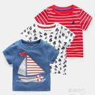 男童短袖T恤夏童裝兒童寶寶半截袖小童上衣嬰兒 歐韓時代