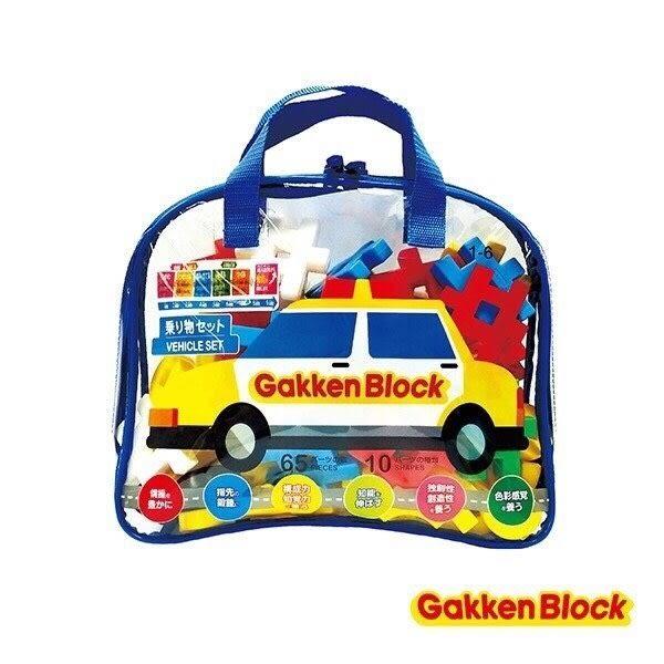 《 日本學研積木 GAKKEN 》趣味交通工具組合 ╭★ JOYBUS玩具百貨