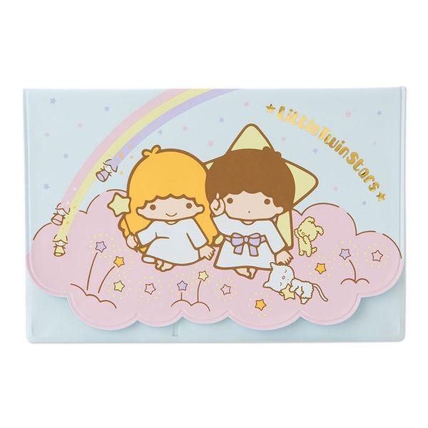 日本雙子星票卡套悠遊卡套包護照包萬用收納包彩虹593905通販屋