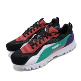 Puma 休閒鞋 TrailWolf 黑 紅 男鞋 女鞋 運動鞋 復古慢跑鞋 【ACS】 37188901
