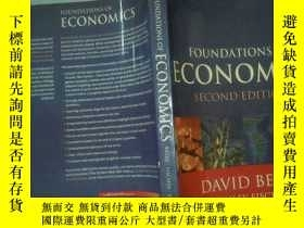 二手書博民逛書店FOUNDATIONS罕見OF ECONOMICS SECOND