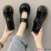 娃娃鞋 大頭鞋女圓頭厚底日系jk軟妹娃娃制服lolita鞋子可愛瑪麗珍小皮鞋