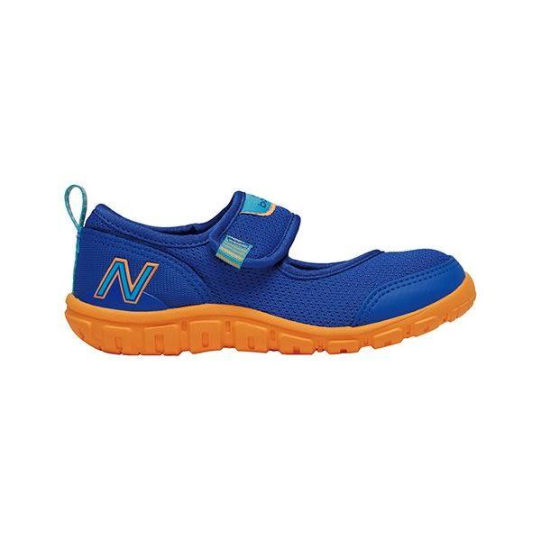 New Balance 紐巴倫 207系列 學站鞋 嬰兒專用兒童戶外涼鞋 可水洗 - 寶藍X橘 KA207PBI