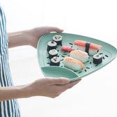 ✭慢思行✭【M120】環保小麥三角雙層盤醋碟 盤子餐具 廚房 過濾 小麥纖維