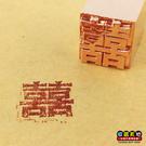 【收藏天地】木盒燙金印章 - 囍字(款式A)∕ 創意禮品 多款選擇 送禮 旅遊紀念 印章 印泥 文具