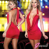【Gaoria】搶眼尤物 露背 車模 夜店服裝 緊身包臀 性感情趣服裝 蘇菲24H購物