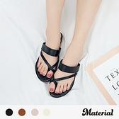 拖鞋 交叉套趾細帶拖鞋 MA女鞋 T60106