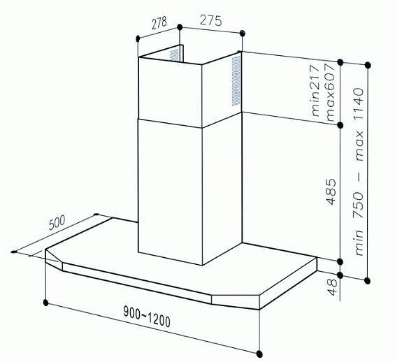【系統廚具】BEST 貝斯特 K9991 (90cm款)環保排油煙