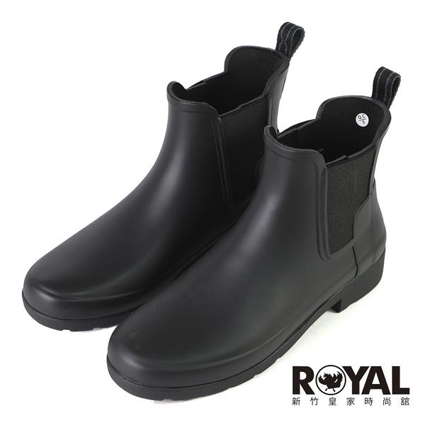 HUNTER Refined 黑色 防水 霧面 踝靴 女款 NO.J0973【新竹皇家 WFS2201RMAABLK】