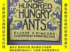 二手書博民逛書店One罕見Hundred Hungry AntsY257216