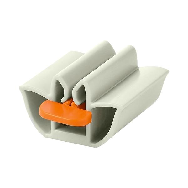 [7-11今日299免運]轉動式擠牙膏器 懶人擠牙膏神器 保養品擠壓器 藥膏擠壓器(mina百貨)【F0481】