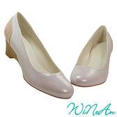WINEAN薇妮安-優雅5cm船型、楔型鞋(淡紫色)-WNA-15989