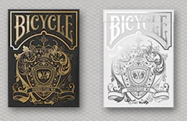 【USPCC 撲克】Bicycle Hundred Years War gold/silver Playing Cards