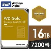 【南紡購物中心】WD【金標】16TB 3.5吋企業級硬碟(WD161KRYZ)