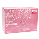 森田藥妝親水化妝棉200片【愛買】