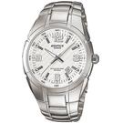 CASIO卡西歐EDIFICE 10年電力腕錶  EF-125D-7A 白