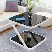 陽台小茶幾簡約現代迷你方形客廳沙發邊幾簡易小戶型創意角幾茶幾 NMS 樂活生活館