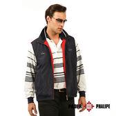 富雷克【PADER PHALIPE】雙面穿厚背心《丈青/紅色》99009-3
